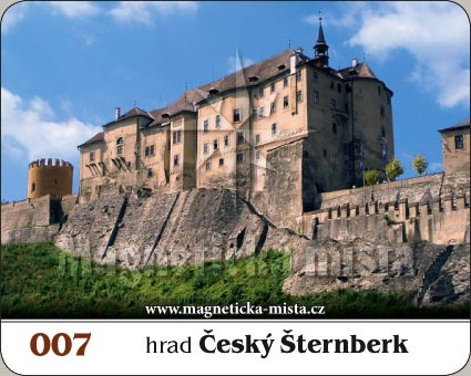 Magnetka - Hrad Český Šternberk