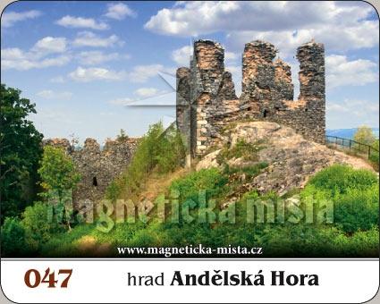 Magnetka - Hrad Andělská Hora