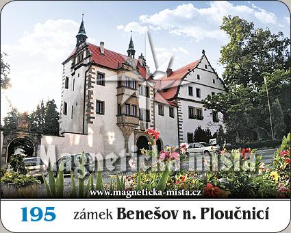 Magnetka - Zámek Benešov nad Ploučnicí