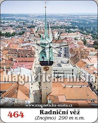 Magnetka - Radniční věž (Znojmo)