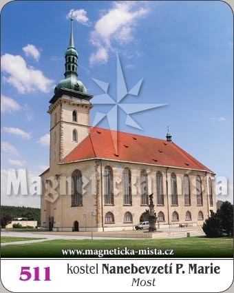 Magnetka - Kostel Nanebevzetí Panny Marie