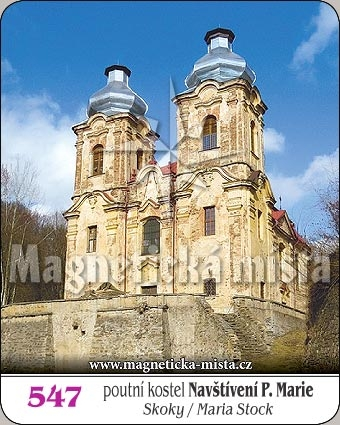 Magnetka - Poutní kostel Navštívení Panny Marie - Skoky
