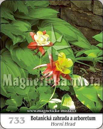 Magnetka - Botanická zahrada a arboretum - Horní hrad