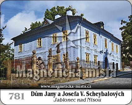 Magnetka - Dům Jany a Josefa V. Scheybalových - Jablonec nad Nisou