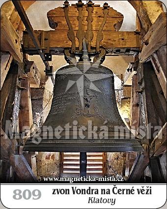 Magnetka - Zvon Vondra - Černá věž Klatovy
