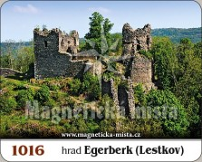 Magnetky: Hrad Egerberk (Lestkov)