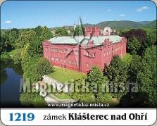 Magnetky: Zámek Klášterec nad Ohří