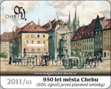 Magnetky: 950 let města Chebu