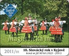 Magnetky: 18. Slovácký rok v Kyjově