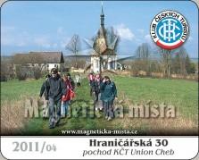 Magnetky: Hraničářská 30 2011