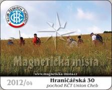 Magnetky: Hraničářská 30 2012