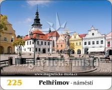 Magnetky: Město Pelhřimov
