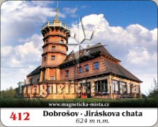 Magnetky: Dobrošov - Jiráskova chata