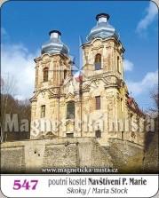 Magnetky: Poutní kostel Navštívení Panny Marie (Skoky)