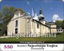 Magnetky: Kostel Nejsvětější Trojice (Křemešník)