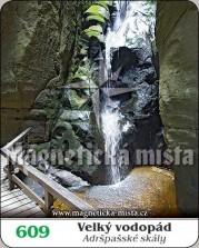 Magnetky: Velký vodopád - Adršpašské skály