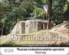 Magnetky: Muzeum československého opevnění Kladruby