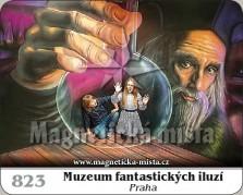 Magnetky: Muzeum fantastických iluzí - Praha