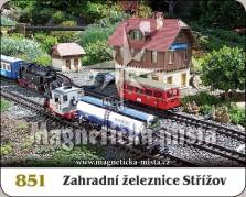 Magnetky: Zahradní železnice Střížov