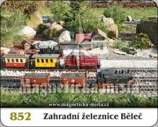 Magnetky: Zahradní železnice Běleč
