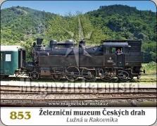 Magnetky: Železniční muzeum ČD (Lužná u Rakovníka)