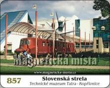 Magnetky: Slovenská strela (Technické muzeum Tatra)
